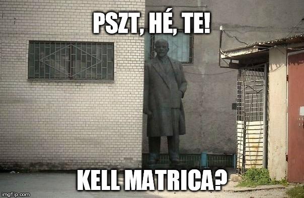 Lenin a sarokban
